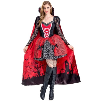 Halloween Cosplay Witch Vampire Zombie Costumes Nihaostyles Wholesale Halloween Costumes NSQHM81797