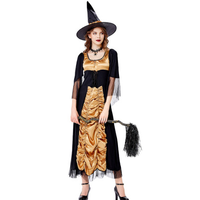 Halloween Cosplay Witch Costume Nihaostyles Wholesale Halloween Costumes NSQHM81796