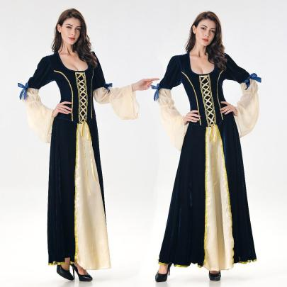Halloween Cosplay Medieval Court Queen Princess Costume Nihaostyles Wholesale Halloween Costumes NSQHM81804
