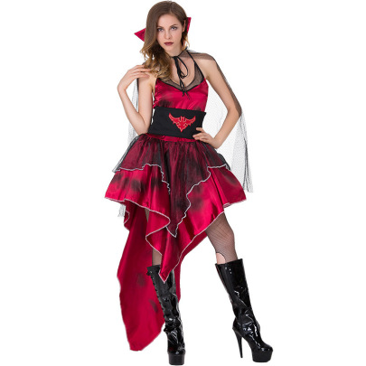 Halloween Cosplay Witch Vampire Demon Costume Nihaostyles Wholesale Halloween Costumes NSQHM81926