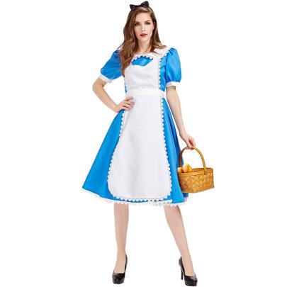Halloween Cosplay Alice In Wonderland Costume Nihaostyles Wholesale Halloween Costumes NSPIS82036