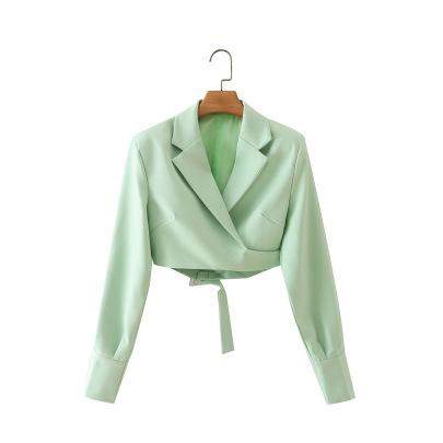 Women's Short Truncated Suit Nihaostyles Wholesale Clothing NSAM82062