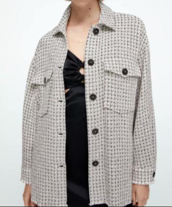 Autumn Women's Shirt Jacket Coat Nihaostyles Wholesale Clothing NSAM82131
