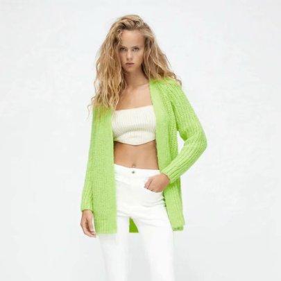 Autumn Knitted Cardigan Jacket Nihaostyles Wholesale Clothing NSAM82201