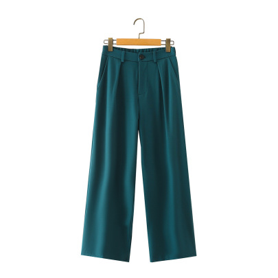 Summer Loose Mopping Straight Suit Pants Nihaostyles Wholesale Clothing NSAM82228
