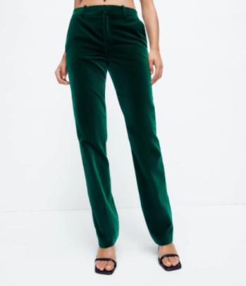 Autumn Velvet Straight-leg Suit Casual Pants Nihaostyles Wholesale Clothing NSAM82248