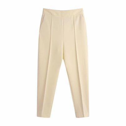 Autumn High Waist Slim Casual Pants Nihaostyles Wholesale Clothing NSAM82230