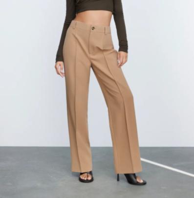 Straight High Waist Pants Nihaostyles Clothing Wholesale NSAM82426