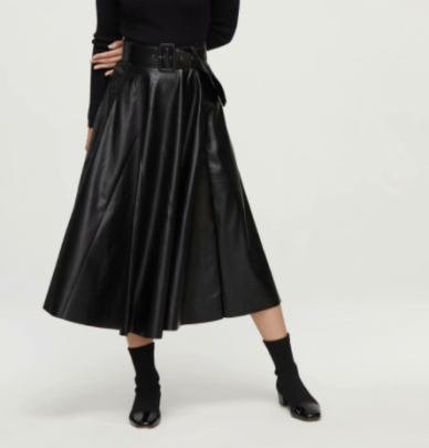 Autumn Thin A-line Skirt High-waisted Skirt Nihaostyles Wholesale Clothing NSAM82454