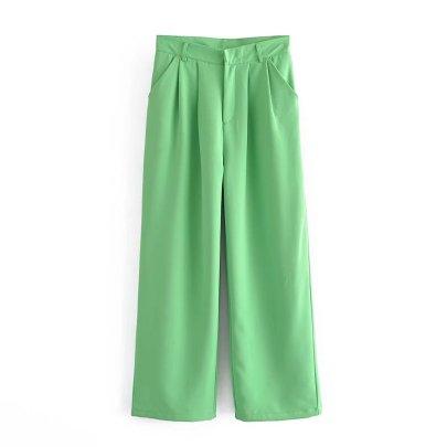 Straight Leg Casual Pants Nihaostyles Wholesale Clothing NSAM82847