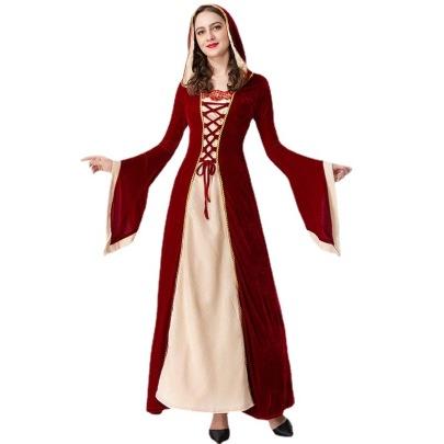 Halloween Parent-child Costume Palace Princess Queen Dress Nihaostyles Wholesale Halloween Costumes NSQHM80986
