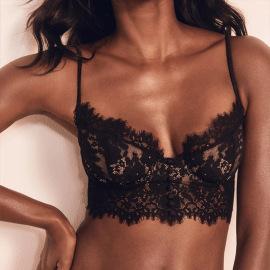 Sexy Lace Underwired Bra Underwear Set NSXQ37308
