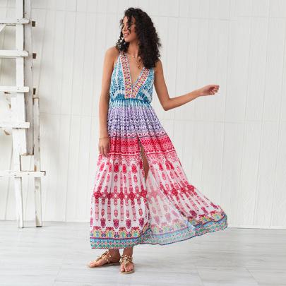 Fashion Bohemian Large Swing Beach Dress  NSSE35240