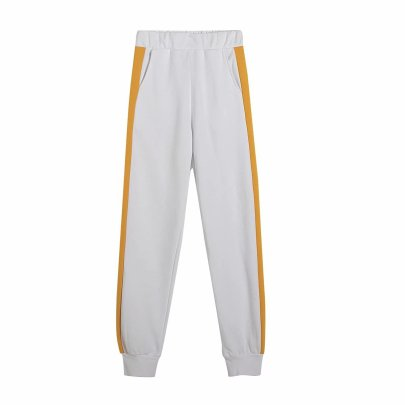 Spring Contrast Color Casual Sports Pants  NSAM43016