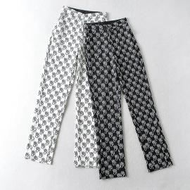 Spring Printing Casual Pants NSAM45429