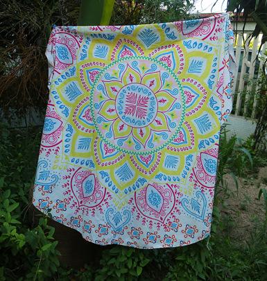 Fashion Floral Printed Scarf NSOY46249