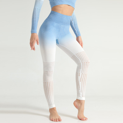 Hollow Yoga High Waist Fitness Pants  NSNS47242
