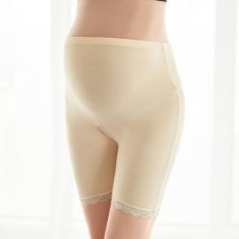 Maternity Lace Decor Short Leggings NSXY47372