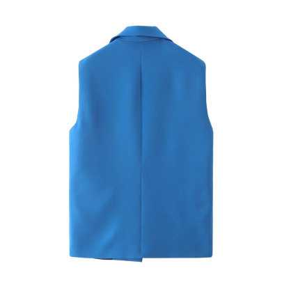 Loose Temperament Sleeveless Suit Jacket  NSAM49728