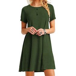 Short-sleeved New Sexy Dress NSYKD50645