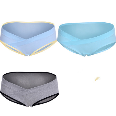 3 Packs Maternity Low Waist Belly Lift Panty NSXY47525