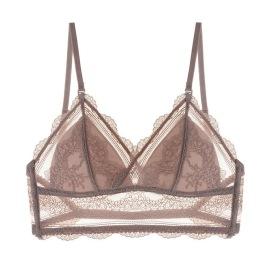 New Sexy Open Back Lace Small Thin Bra NSXQ54216