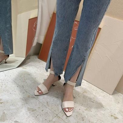 New Fashion Velcro High Heels NSHU54470