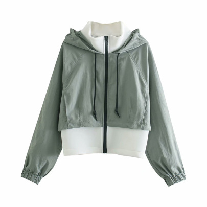 Fashion Hooded Sport Jacket NSAM48568