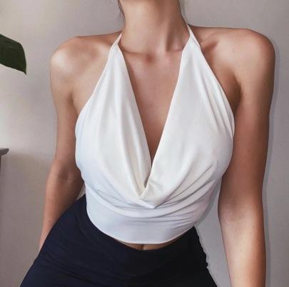 Hanging Neck Summer Fashion Outerwear Camisole NSAC57476