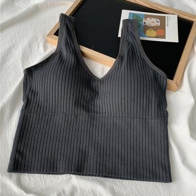 Camisole Ladies Slimming Inner Sleeveless Blouse Underwear NSYID58336