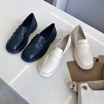 Autumn New Single Flat Retro One-foot Shoes NSHU58265