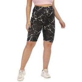 Irregular Printing Five-point Shorts NSOY59408