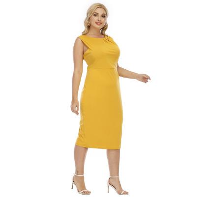 Plus Size Fashion Long Slim Evening Dress NSOY59411