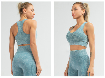 Fitness Sports Bra Seamless Plus Size Fitness Set NSLUT59745