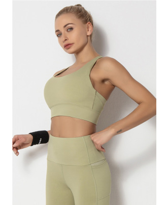 Beautiful Back Yoga Fitness Running Sports Underwear NSLUT59871