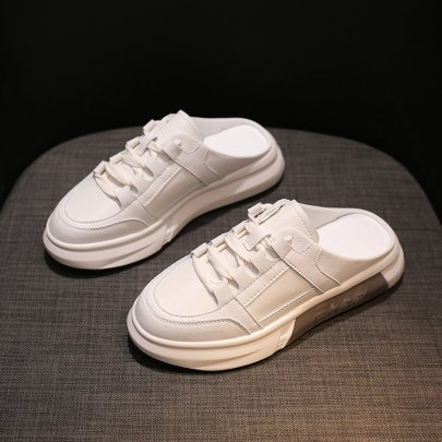Spring And Autumn New All-match White Shoes NSTZY54757