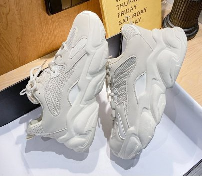 Summer Sports Thin New Thin Breathable White Shoes NSTZY54754