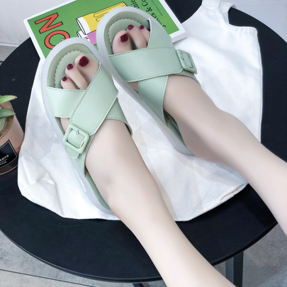 Summer New Fashion Bottom Casual Outing Slippers NSPE54645