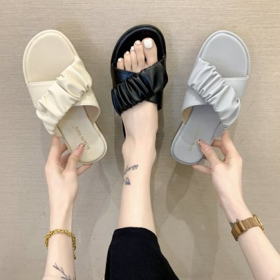 Summer Wholesale Outer Shoes Thick-soled Sandals NSPE54655