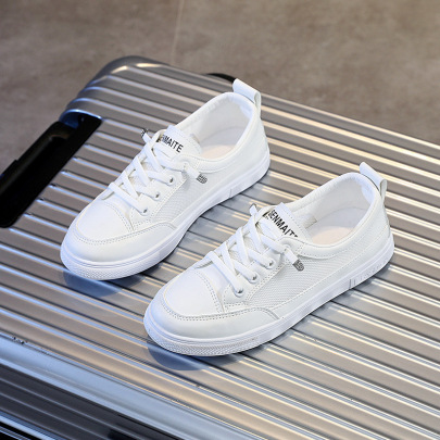 Small White Summer New Sports Leisure Single Shoes NSNL54716