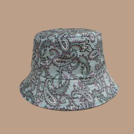 Green Cashew Flower Fisherman Hat NSTQ55468