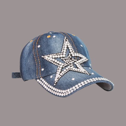 Five-pointed Star Baseball Cap NSTQ55474