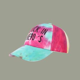 Color Matching Tie-dye Baseball Cap NSTQ55478