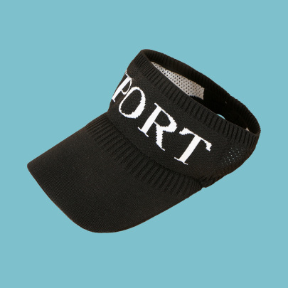 Fashion Letter Print Visor Hat NSTQ55483