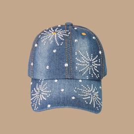 Snowflake Sticker Diamond Baseball Capx NSTQ55484