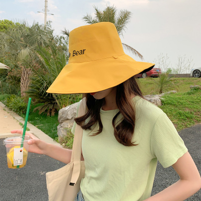 Summer Embroidered Printing Double-sided Fisherman Hat NSCM55553
