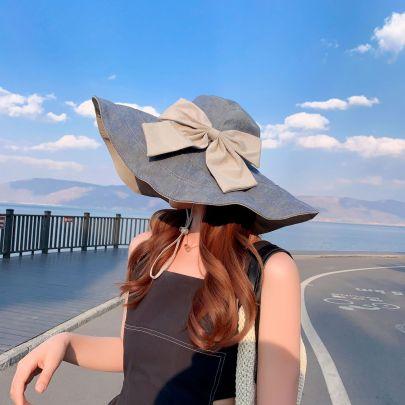 Summer Bow Knot Sun Hat NSCM55558