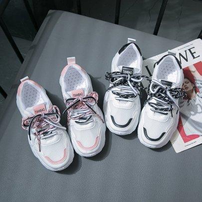 Flat Casual Mesh Sneakers NSYUS63074