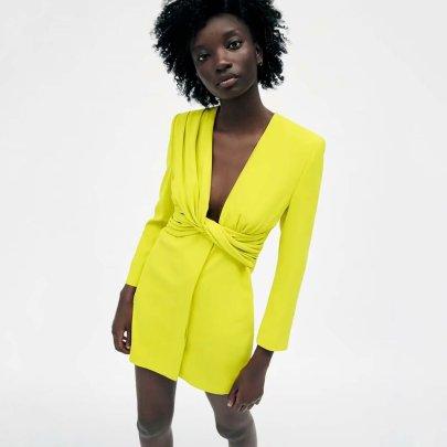 Wholesale Summer Blazer-style Dress NSAM63100