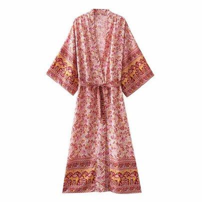 Wholesale Summer Ring Belt Dress NSAM63122